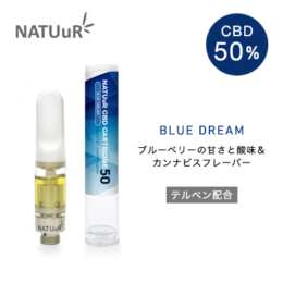 NATUuR – CBD CARTRIDGE 50 カートリッジ – Blue Dream