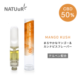 NATUuR – CBD CARTRIDGE 50 カートリッジ – Mango Kush